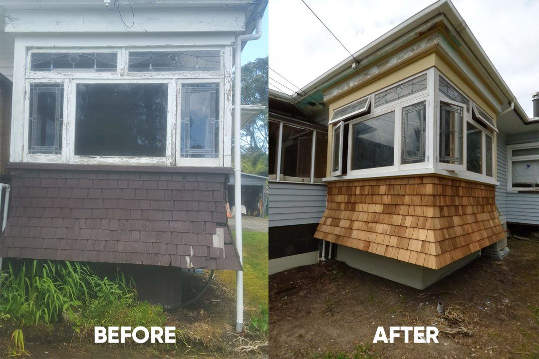 Bay window Transformation